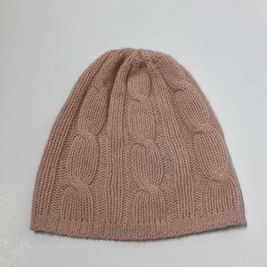 A6 Portolano > Cashmere > Light Pink Knit Hat